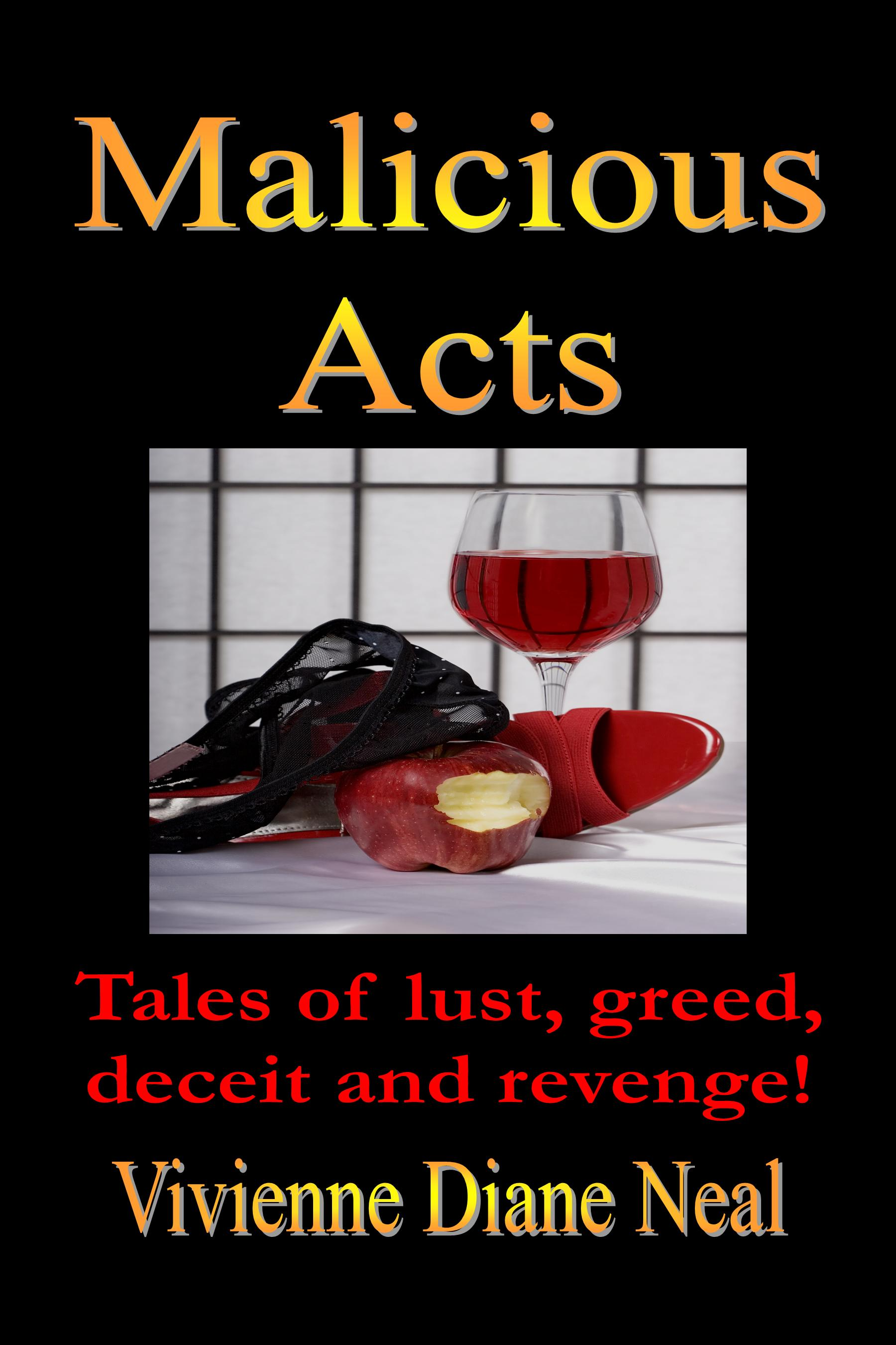 Malicious Acts Front Book Cover