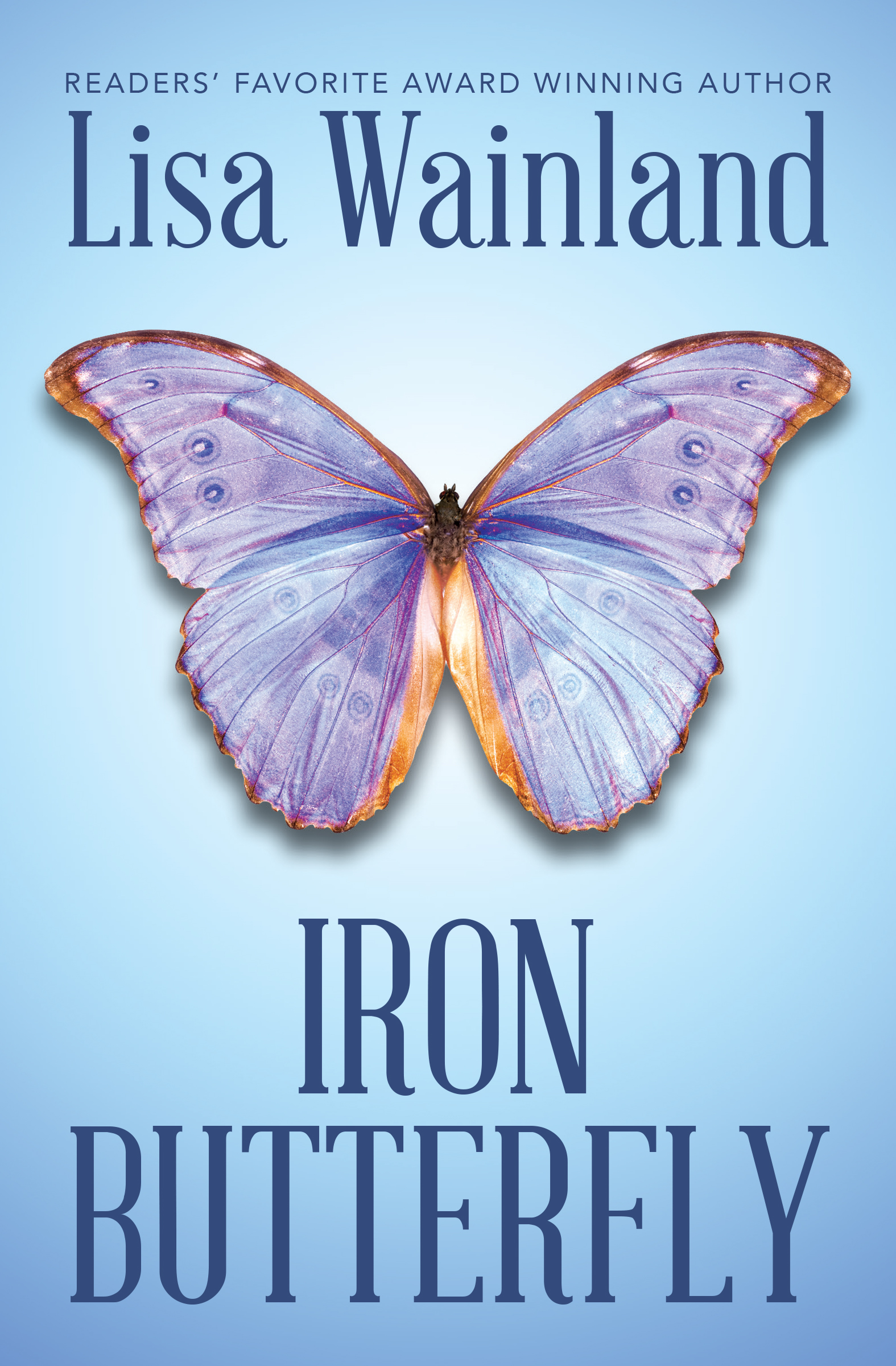 Iron Butterfly by Lisa Wainland cover